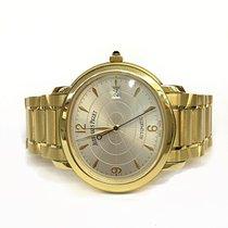 Audemars Piguet Millenary pre-owned 33mm Silver Date Yellow gold