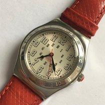 Swatch gebraucht Quarz 31mm Silber
