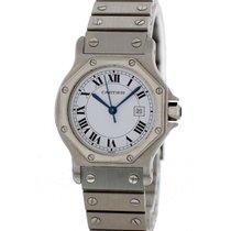 Cartier Santos Octagon 2966 Mens Watch