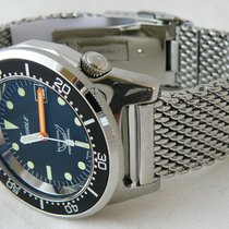 Squale Professional 500mt - 1521-026A3 polished case, mesh...