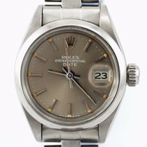 Rolex Oyster Perpetual Lady Date pre-owned 26mm Date Steel