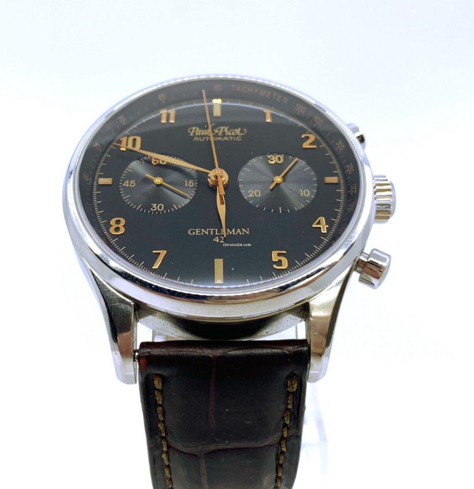 Paul Picot Gentleman - Automatic - Chronograph eladó 426 383 Ft Seller  státuszú eladótól a Chrono24-en 15b9bd6ef4
