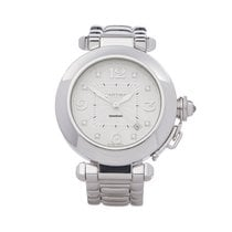 Cartier 32mm Automatic pre-owned Pasha (Submodel) Silver