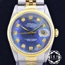 Rolex Datejust 16233 Very good Gold/Steel 36mm Automatic United States of America, New York, NEW YORK