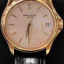 Patek Philippe Yellow gold Automatic No numerals 37mm new Calatrava