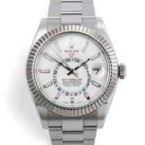 Rolex Sky-Dweller Сталь 42mm Белый