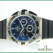 Omega Constellation Double Eagle Titanium Black No numerals