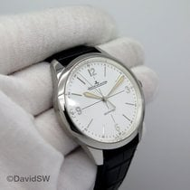 Jaeger-LeCoultre Geophysic 1958 pre-owned Crocodile skin