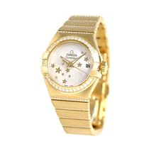 Omega Constellation Ladies Yellow gold 30mm White