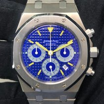 Audemars Piguet Titanium Blue pre-owned Royal Oak Chronograph