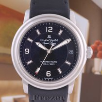 Blancpain Steel 38mm Automatic 2100-1130A-64B pre-owned