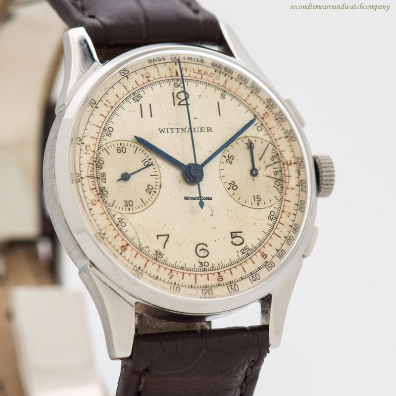 Wittnauer Watch Value >> Wittnauer 2 Register Chrono Circa 1950 S