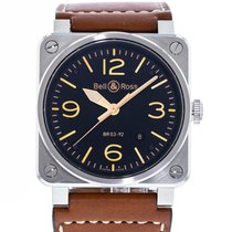 Bell & Ross Steel 42mm Automatic Golden Heritage pre-owned