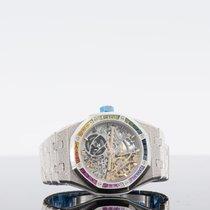 Audemars Piguet new Automatic 37mm White gold Sapphire Glass