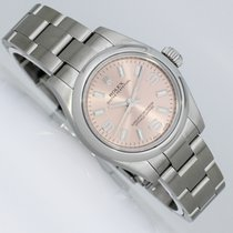 Rolex Oyster Perpetual 26 Steel 26mm Arabic numerals