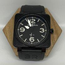 Bell & Ross BR 01-92 pre-owned 46mm Black Rubber