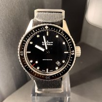 Blancpain Fifty Fathoms Bathyscaphe Titane 43mmmm Noir Sans chiffres France, Paris
