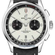 Breitling ab0118221g1x1 Steel 2021 42mm new United States of America, New York, Airmont