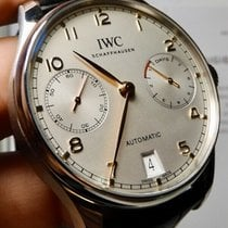 IWC Portuguese Automatic Steel 42mm Silver United States of America, North Carolina, Winston Salem