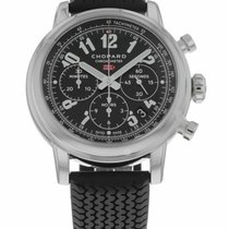 Chopard Steel Automatic Black 42mm pre-owned Mille Miglia