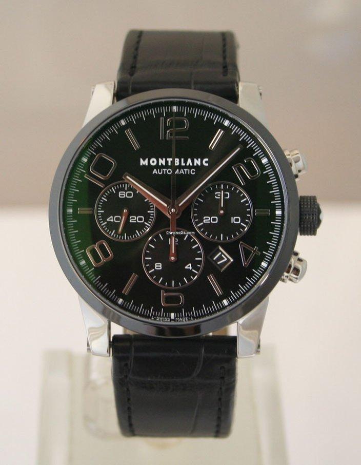 1db504e5d8b Montblanc Timewalker - Todos os preços de relógios Montblanc Timewalker na  Chrono24