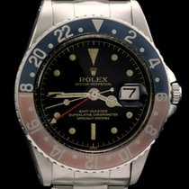 Rolex GMT REF 1675 CHAPTER RING GILT DIAL WITH ROLEX SERVICE...