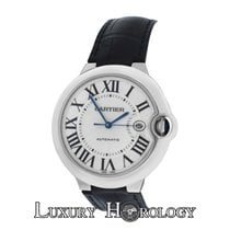 Cartier New  Ballon Bleu XL 42MM W6901351 3000 18K White Gold