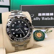 Rolex Aluminum Automatic Brown Arabic numerals new GMT-Master II