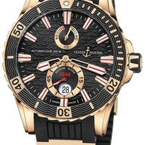 Ulysse Nardin Diver Chronometer Rose gold 44mm Black United States of America, New York, Airmont