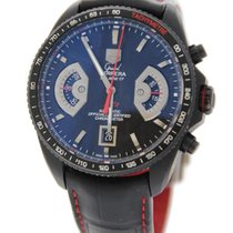 TAG Heuer Grand Carrera Cal 17 Chronograph Black Titanium