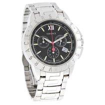 Versace V Sport Mens Blk Dial Swiss Chrono Quartz Watch...