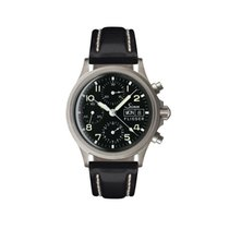 Sinn 356 Steel 39mm Black Arabic numerals