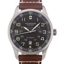 Victorinox Swiss Army Airboss 42 Chronograph Brown Strap