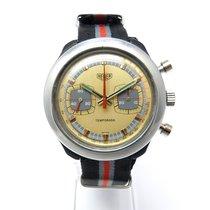 Heuer Temporada Vintage Chronograph Valjoux 7733 Handaufzug