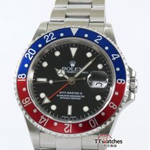 Rolex Gmt Master Ii 16710 Pepsi Bezel Box Papers Complete Set