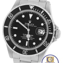 Rolex Men's Rolex Submariner Date Stainless Steel 40mm Black...