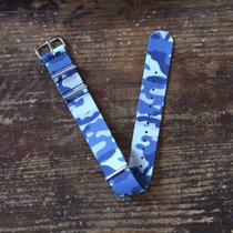 TimeMerchants Blue Camo NATO 20MM