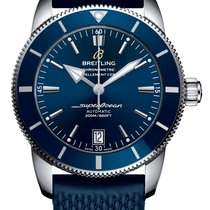 Breitling 42mm Automatic 2019 new Superocean Héritage II 42 Blue