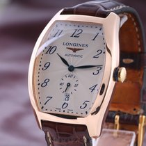 Longines Evidenza pre-owned 33mm Rose gold