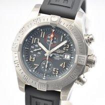 Breitling Titanium Automatic Grey Arabic numerals 45mm new Avenger Bandit