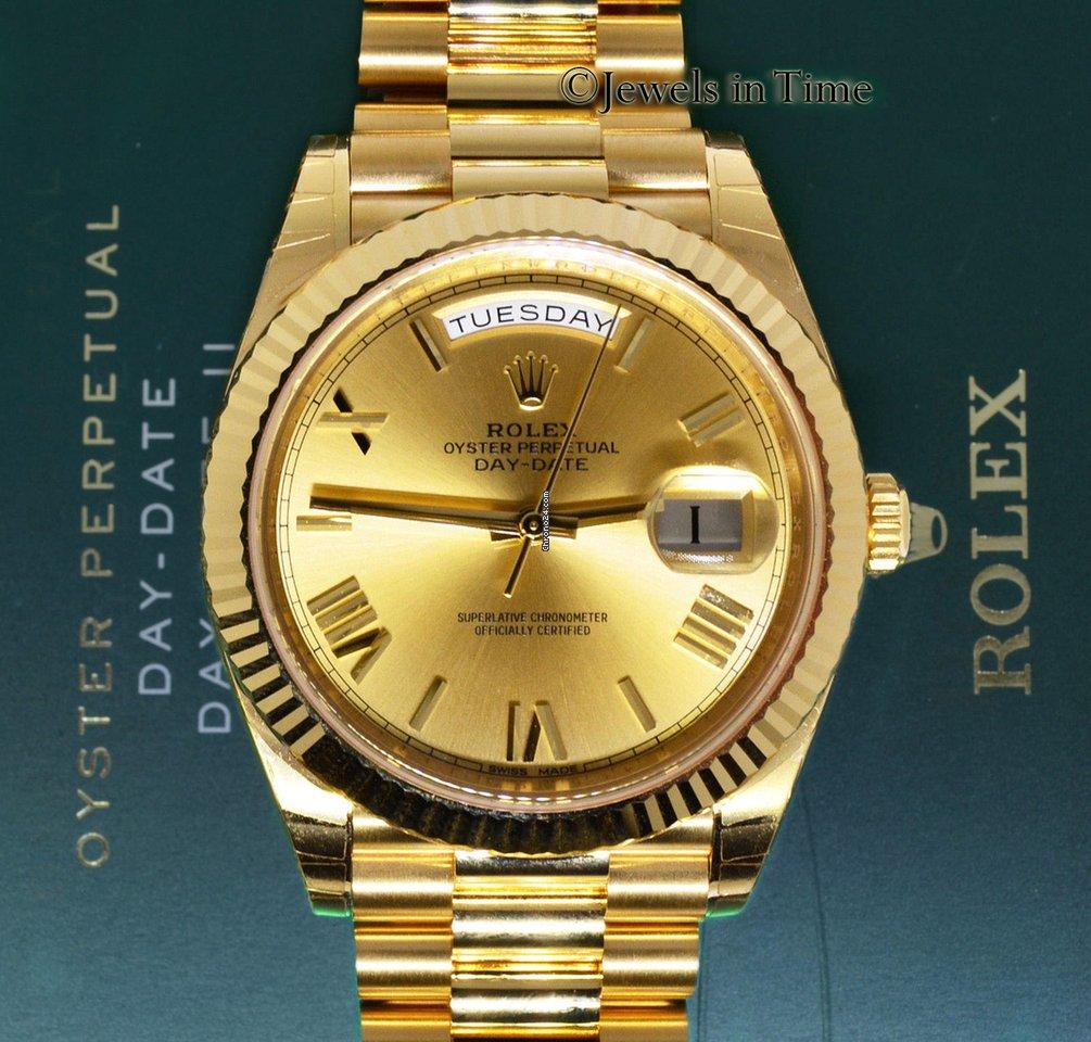 3e712007234 Rolex Day-Date President 40mm 18k Yellow Gold Watch Box Papers... por R   119.260 para vender por um Trusted Seller na Chrono24