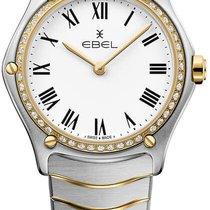 Ebel Sport Altın/Çelik 29mm Beyaz
