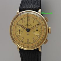 Doxa Yellow gold 38mm Manual winding pre-owned