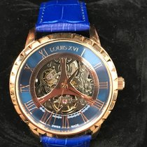 Louis XVI 50mm Automatic pre-owned Blue