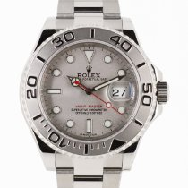 Rolex Yacht-Master 40 Steel 40mm Silver No numerals United Kingdom, London