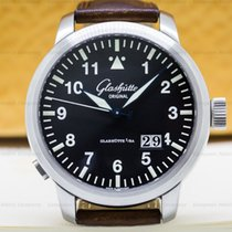 Glashütte Original 44mm Automatic pre-owned Senator Navigator Panorama Date Black