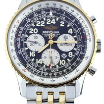 Breitling Navitimer Cosmonaute Gold/Steel 42mm Black United States of America, Illinois, BUFFALO GROVE
