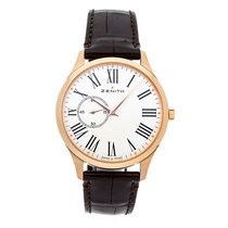 Zenith Elite Ultra Thin Rose gold 40mm White Roman numerals United States of America, Pennsylvania, Bala Cynwyd