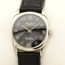Rolex Cellini Danaos White gold 25mm Black Arabic numerals