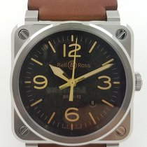Bell & Ross BR 03-92 Steel BR0392-ST-G-HE/SCA 2018 new